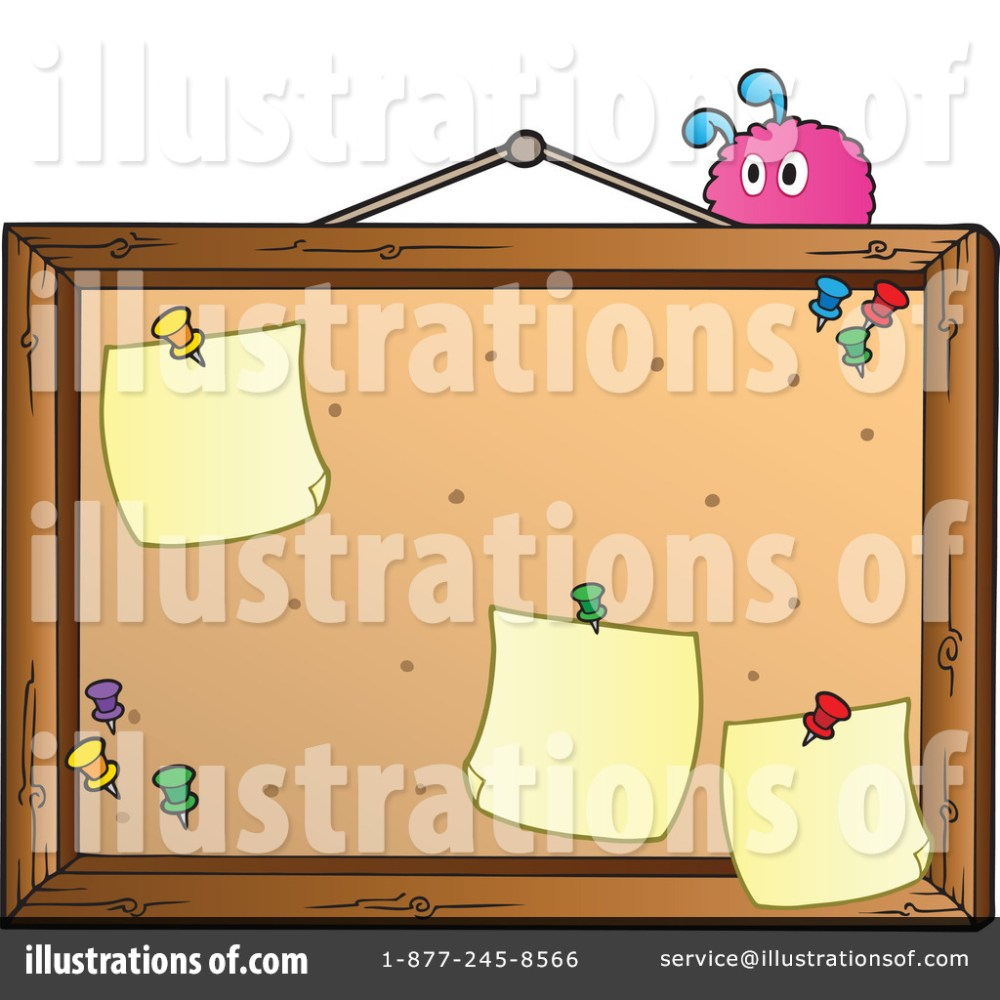 medium resolution of royalty free rf bulletin board clipart illustration 1067085 by visekart