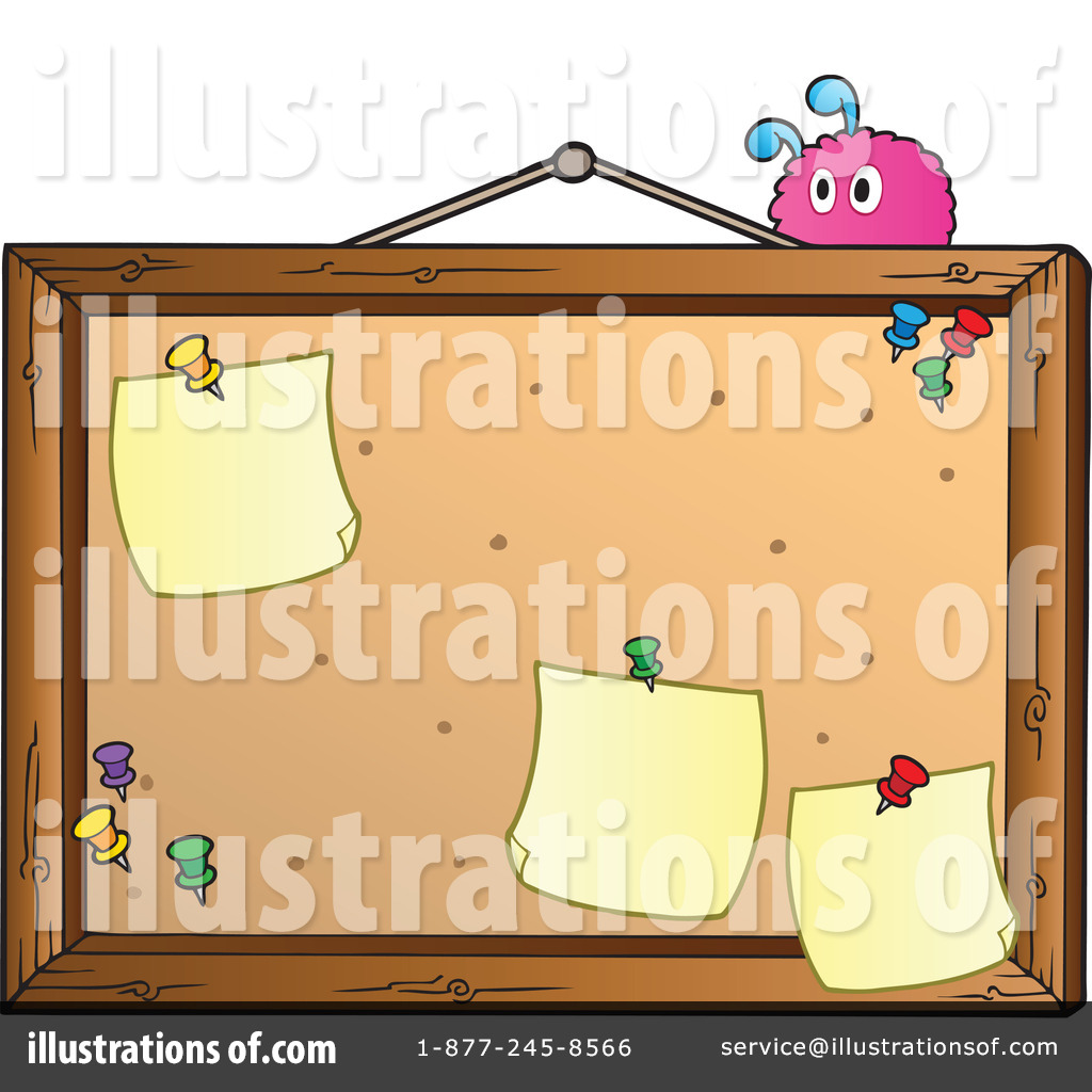 hight resolution of royalty free rf bulletin board clipart illustration 1067085 by visekart