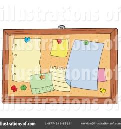 royalty free rf bulletin board clipart illustration 213020 by visekart [ 1024 x 1024 Pixel ]