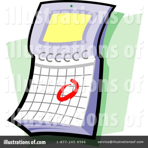 small resolution of royalty free rf calendar clipart illustration by clip art mascots stock sample