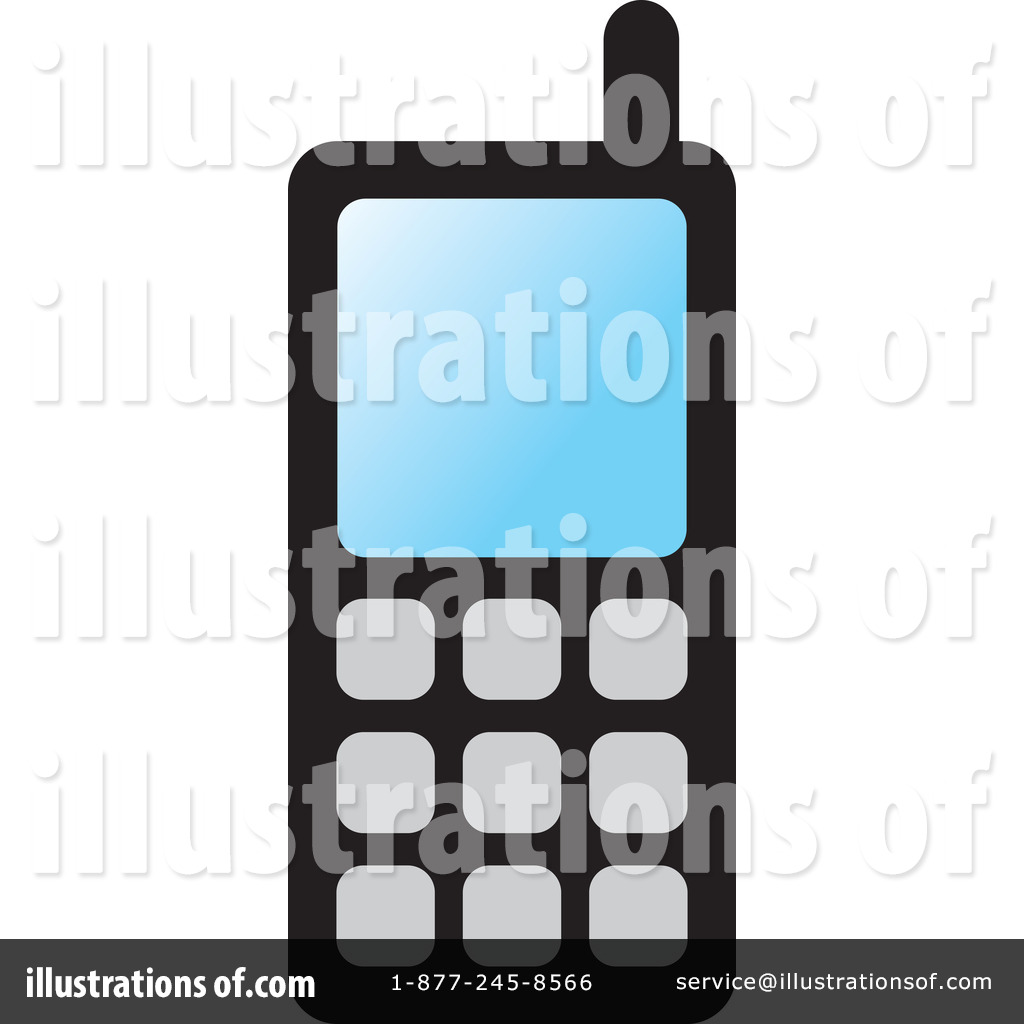 hight resolution of royalty free rf cell phone clipart illustration by lal perera stock sample