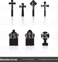 royalty free rf cemetery clipart illustration 72454 by cidepix [ 1024 x 1024 Pixel ]
