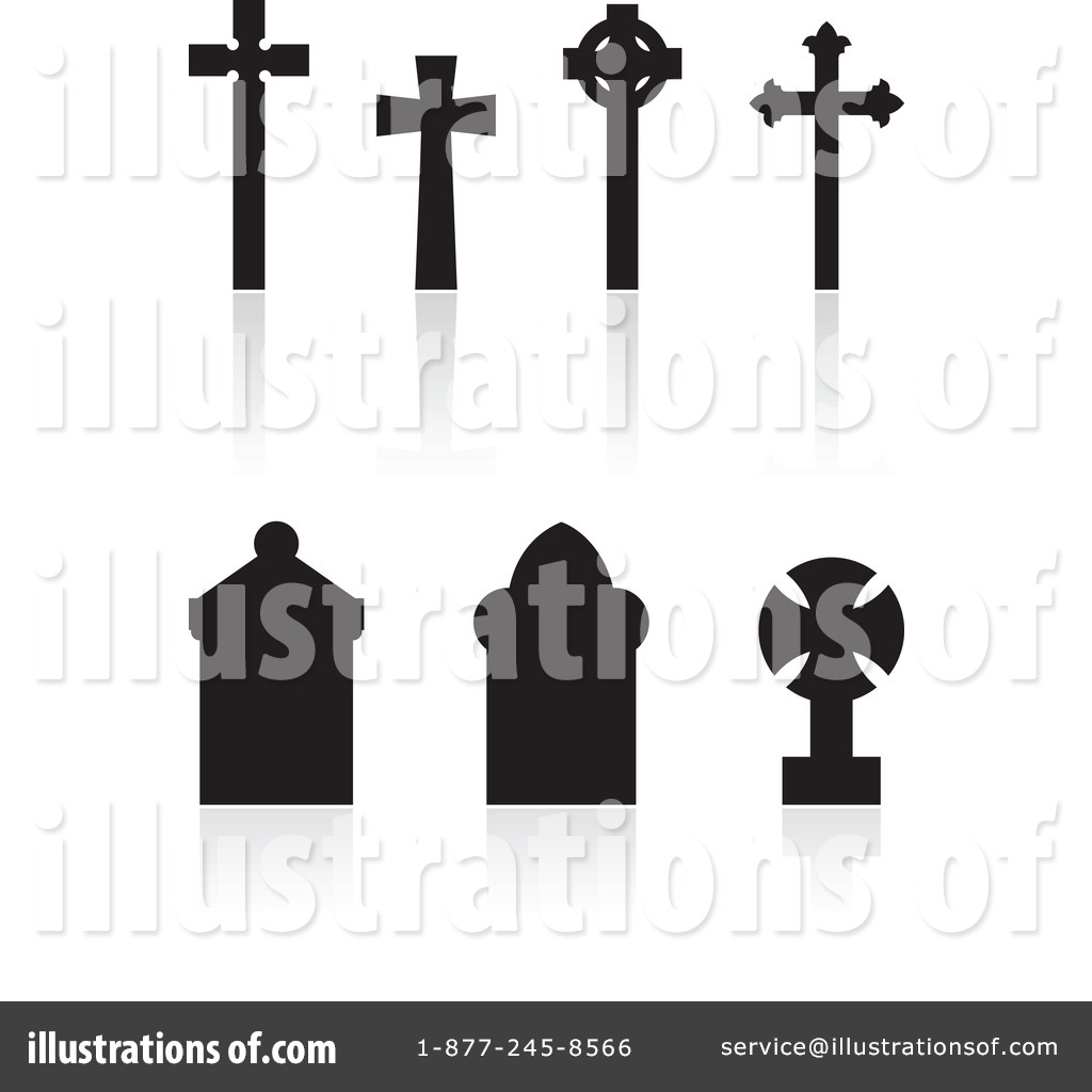hight resolution of royalty free rf cemetery clipart illustration 72454 by cidepix