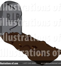 royalty free rf cemetery clipart illustration 67980 by pams clipart [ 1024 x 1024 Pixel ]