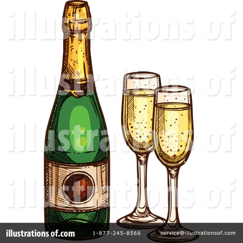 small resolution of royalty free rf champagne clipart illustration by vector tradition sm stock sample
