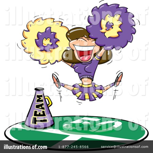 small resolution of royalty free rf cheerleader clipart illustration 70720 by jtoons