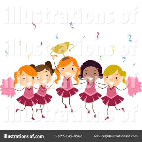 small resolution of free cheerleader clipart image