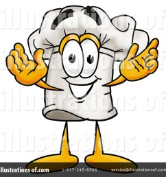royalty free rf chef hat clipart illustration 7741 by toons4biz [ 1024 x 1024 Pixel ]