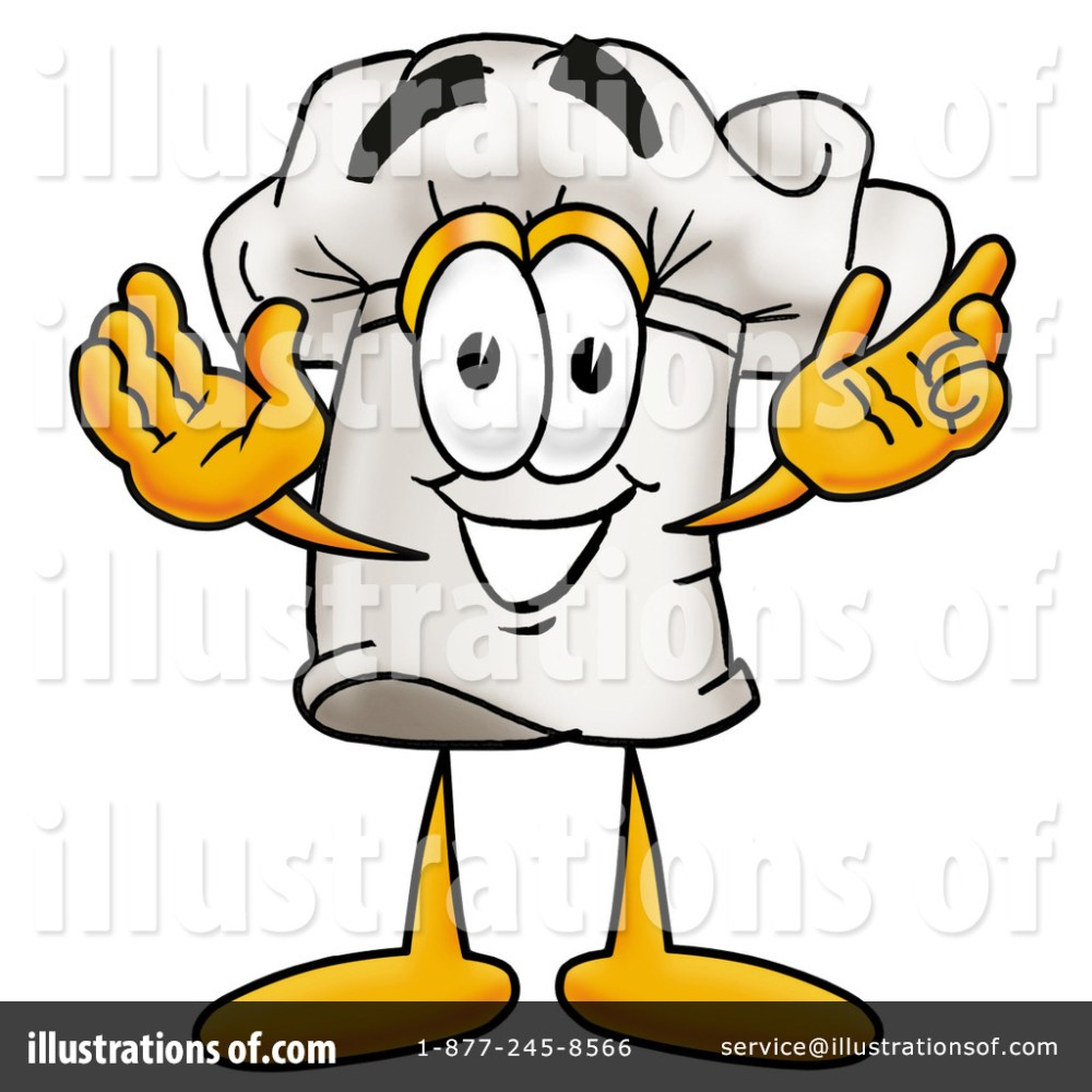medium resolution of royalty free rf chef hat clipart illustration 7741 by toons4biz