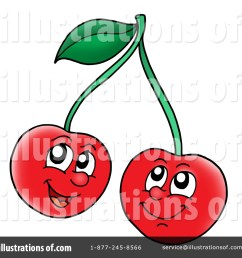 royalty free rf cherry clipart illustration 222163 by visekart [ 1024 x 1024 Pixel ]