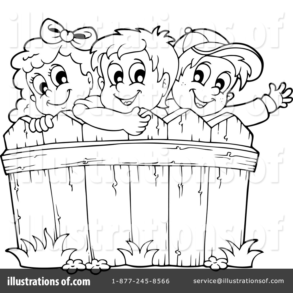 Rail Fence Coloring Pages Coloring Pages