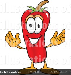 royalty free rf chili pepper clipart illustration 6855 by toons4biz [ 1024 x 1024 Pixel ]