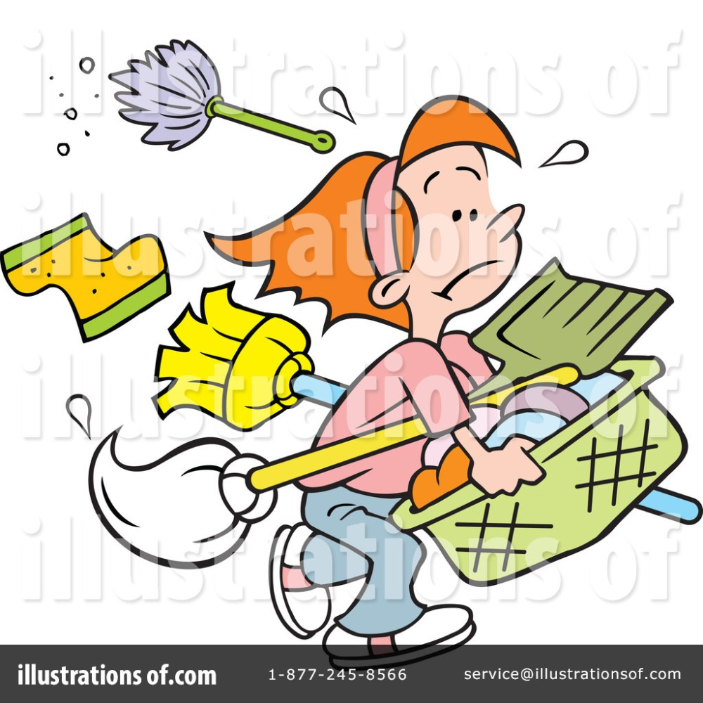 medium resolution of royalty free rf chores clipart illustration 1215428 by johnny sajem