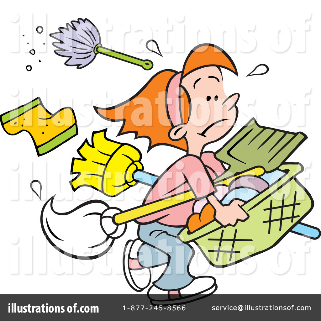 hight resolution of royalty free rf chores clipart illustration 1215428 by johnny sajem