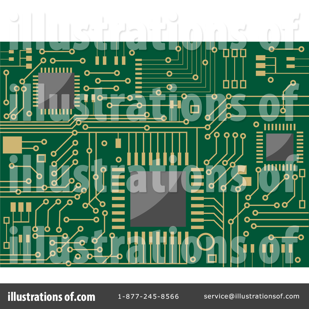 hight resolution of royalty free rf circuit board clipart illustration 1060985 by vector tradition sm
