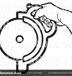 royalty free rf circular saw clipart illustration by lal perera stock sample [ 1024 x 1024 Pixel ]