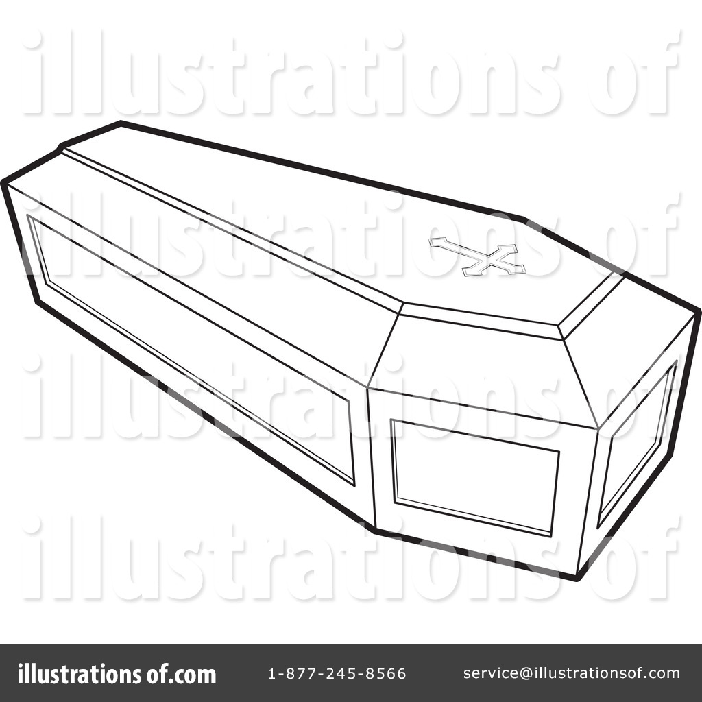 Coffin Clipart