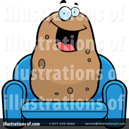 small resolution of royalty free rf couch potato clipart illustration by cory thoman stock sample