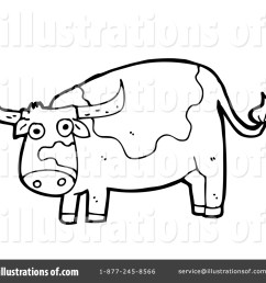 royalty free rf cow clipart illustration 1411174 by lineartestpilot [ 1024 x 1024 Pixel ]