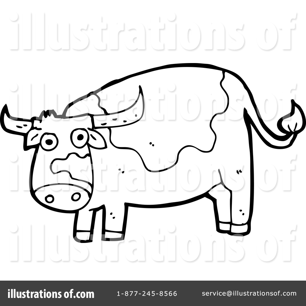 hight resolution of royalty free rf cow clipart illustration 1411174 by lineartestpilot