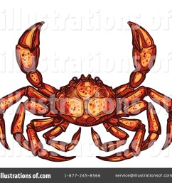 royalty free rf crab clipart illustration by vector tradition sm stock sample [ 1024 x 1024 Pixel ]