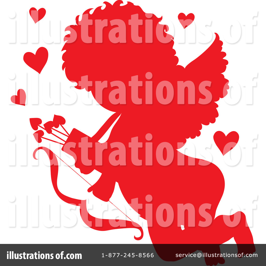 Cupid Clipart 28976 Illustration By Maria Bell