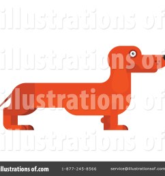 royalty free rf dachshund clipart illustration by vector tradition sm stock sample [ 1024 x 1024 Pixel ]