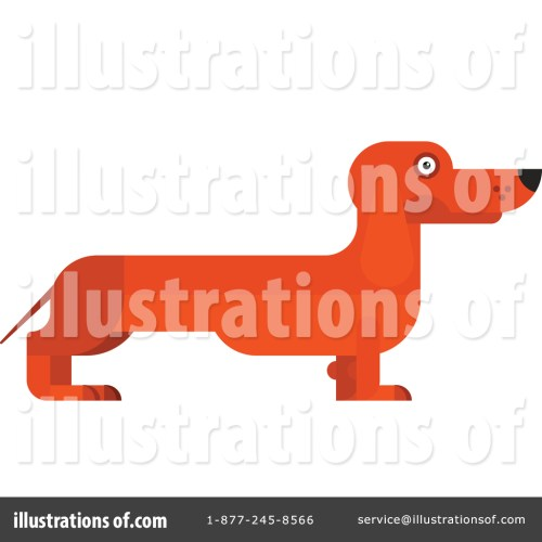 small resolution of royalty free rf dachshund clipart illustration by vector tradition sm stock sample