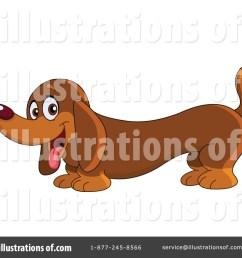 royalty free rf dachshund clipart illustration 1060876 by yayayoyo [ 1024 x 1024 Pixel ]