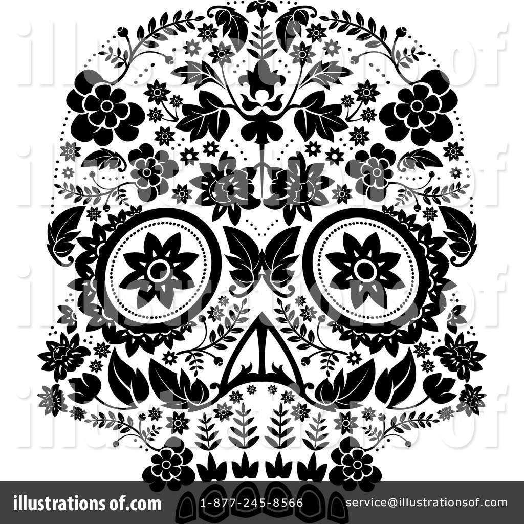 hight resolution of royalty free rf day of the dead clipart illustration 1243051 by lineartestpilot