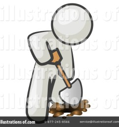 royalty free rf digging clipart illustration 219717 by leo blanchette [ 1024 x 1024 Pixel ]