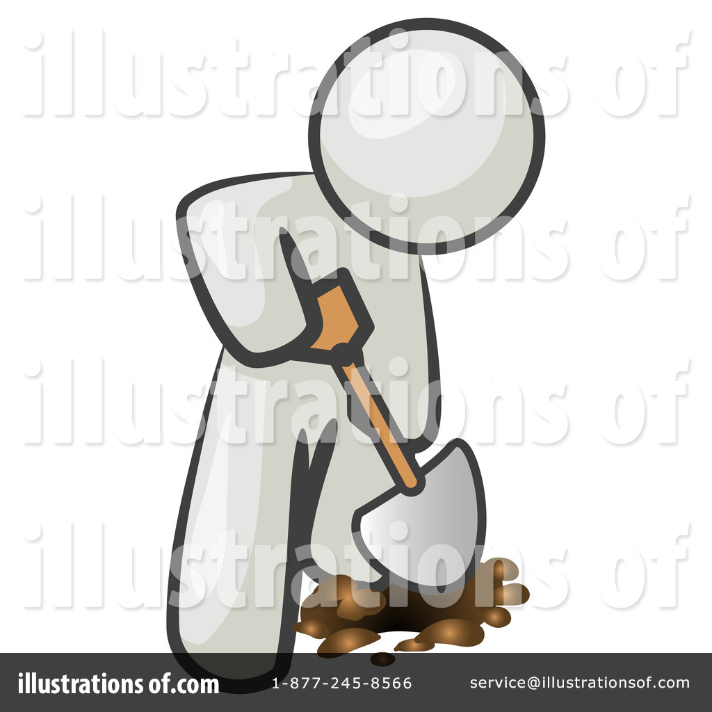 hight resolution of royalty free rf digging clipart illustration 219717 by leo blanchette