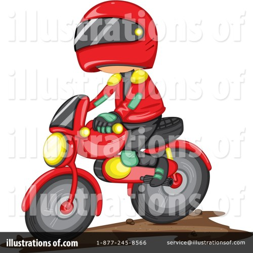 small resolution of royalty free rf dirt bike clipart illustration by graphics rf stock sample
