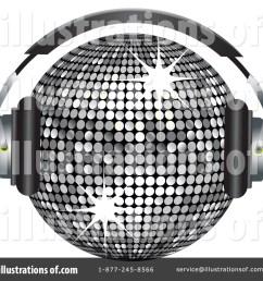 royalty free rf disco ball clipart illustration 225489 by elaineitalia [ 1024 x 1024 Pixel ]