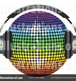 royalty free rf disco ball clipart illustration 225490 by elaineitalia [ 1024 x 1024 Pixel ]