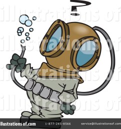 royalty free rf diver clipart illustration 441224 by toonaday [ 1024 x 1024 Pixel ]