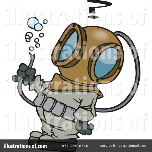 small resolution of royalty free rf diver clipart illustration 441224 by toonaday