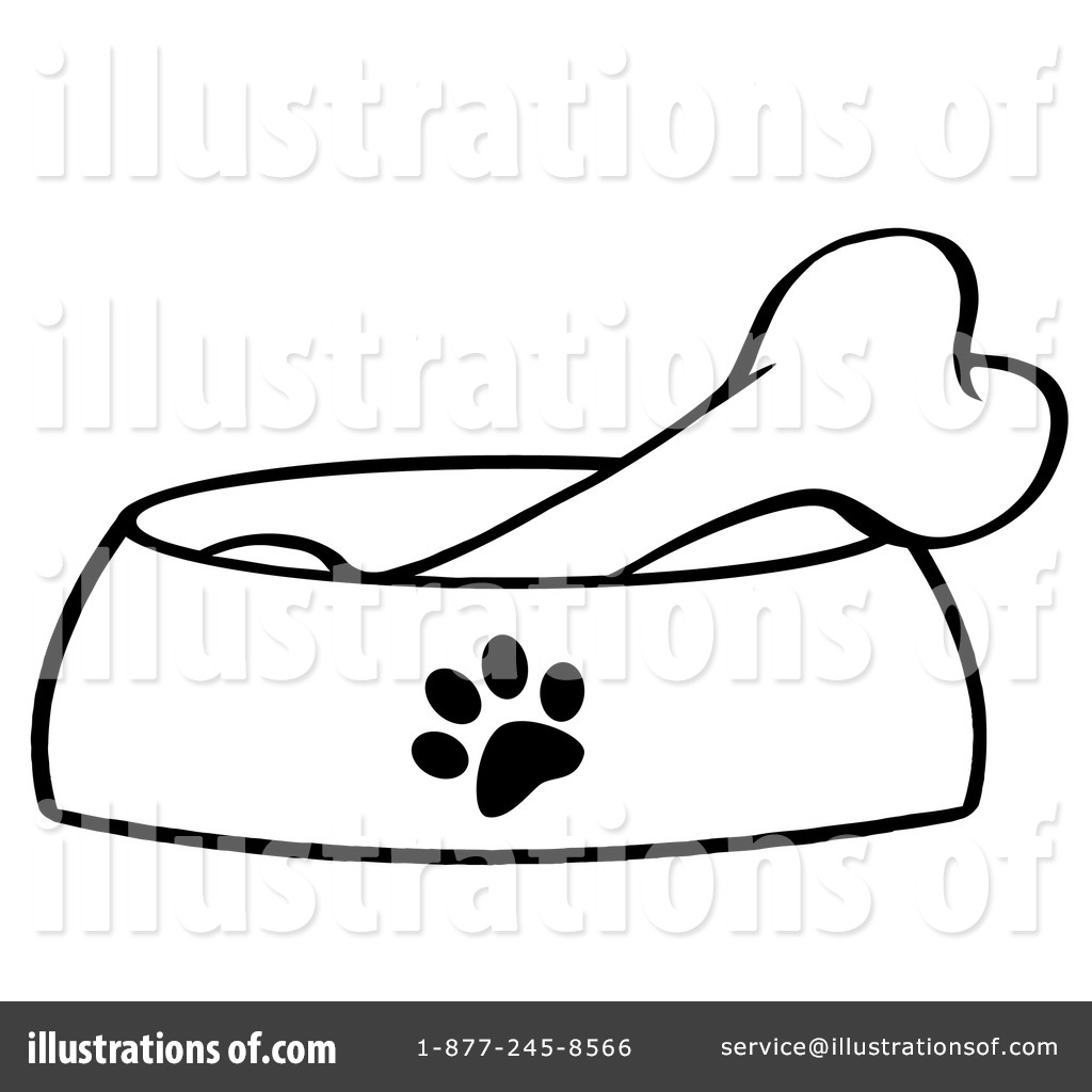 hight resolution of royalty free rf dog bone clipart illustration by hit toon stock sample