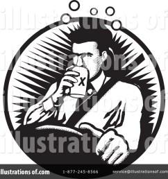 royalty free rf drunk clipart illustration 64244 by david rey [ 1024 x 1024 Pixel ]