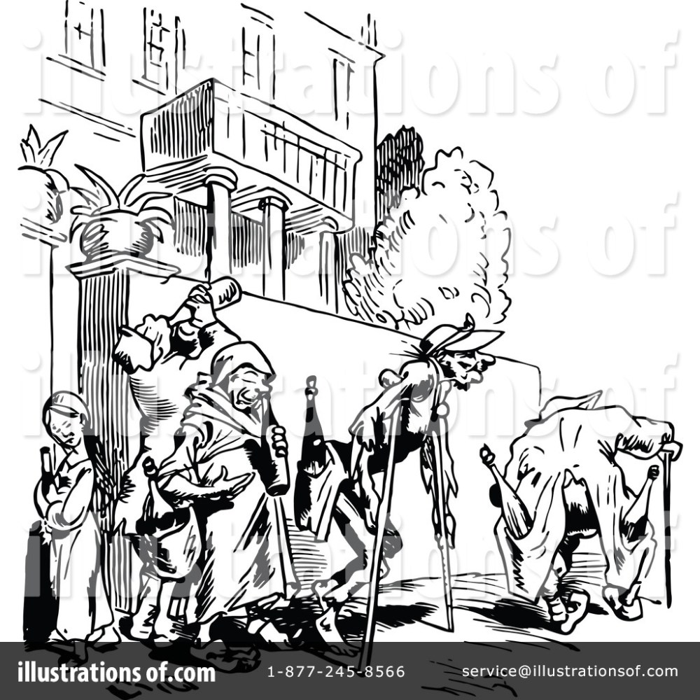 medium resolution of royalty free rf drunk clipart illustration 1147657 by prawny vintage