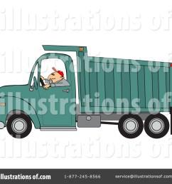 royalty free rf dump truck clipart illustration 1443978 by djart [ 1024 x 1024 Pixel ]