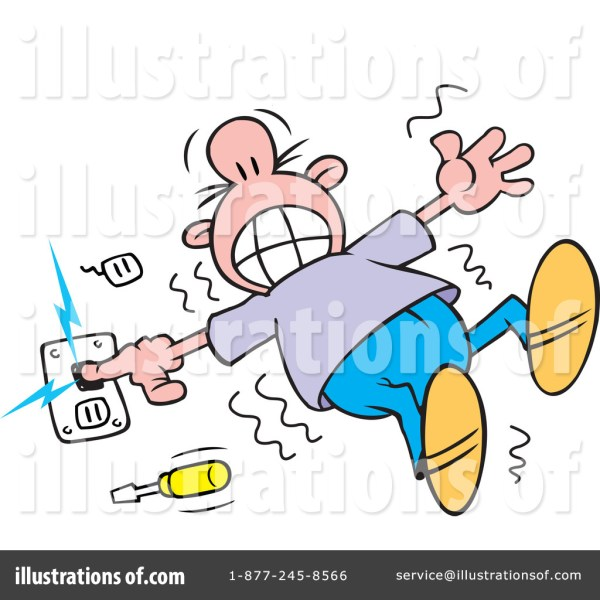electrocuted clipart #1150964