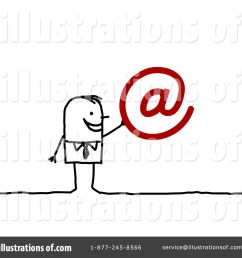 royalty free rf email clipart illustration 94919 by nl shop [ 1024 x 1024 Pixel ]
