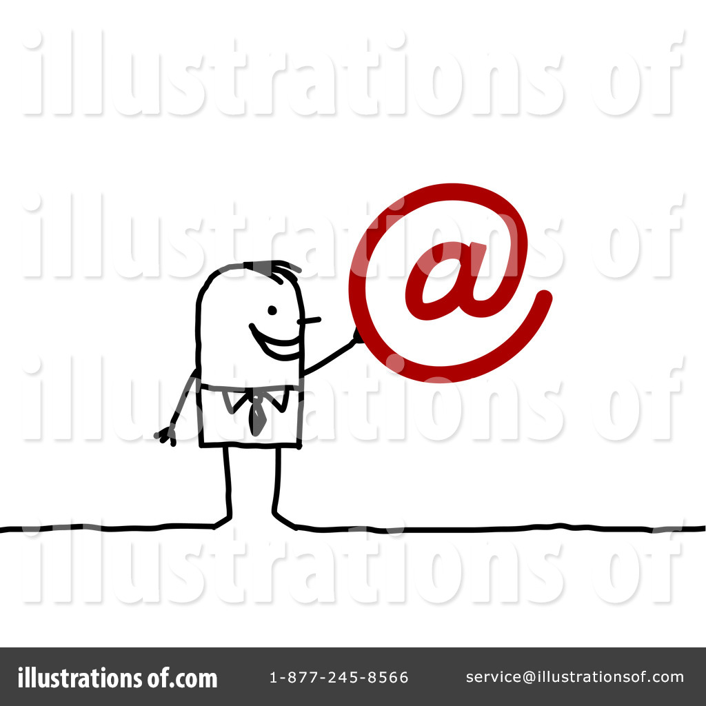hight resolution of royalty free rf email clipart illustration 94919 by nl shop