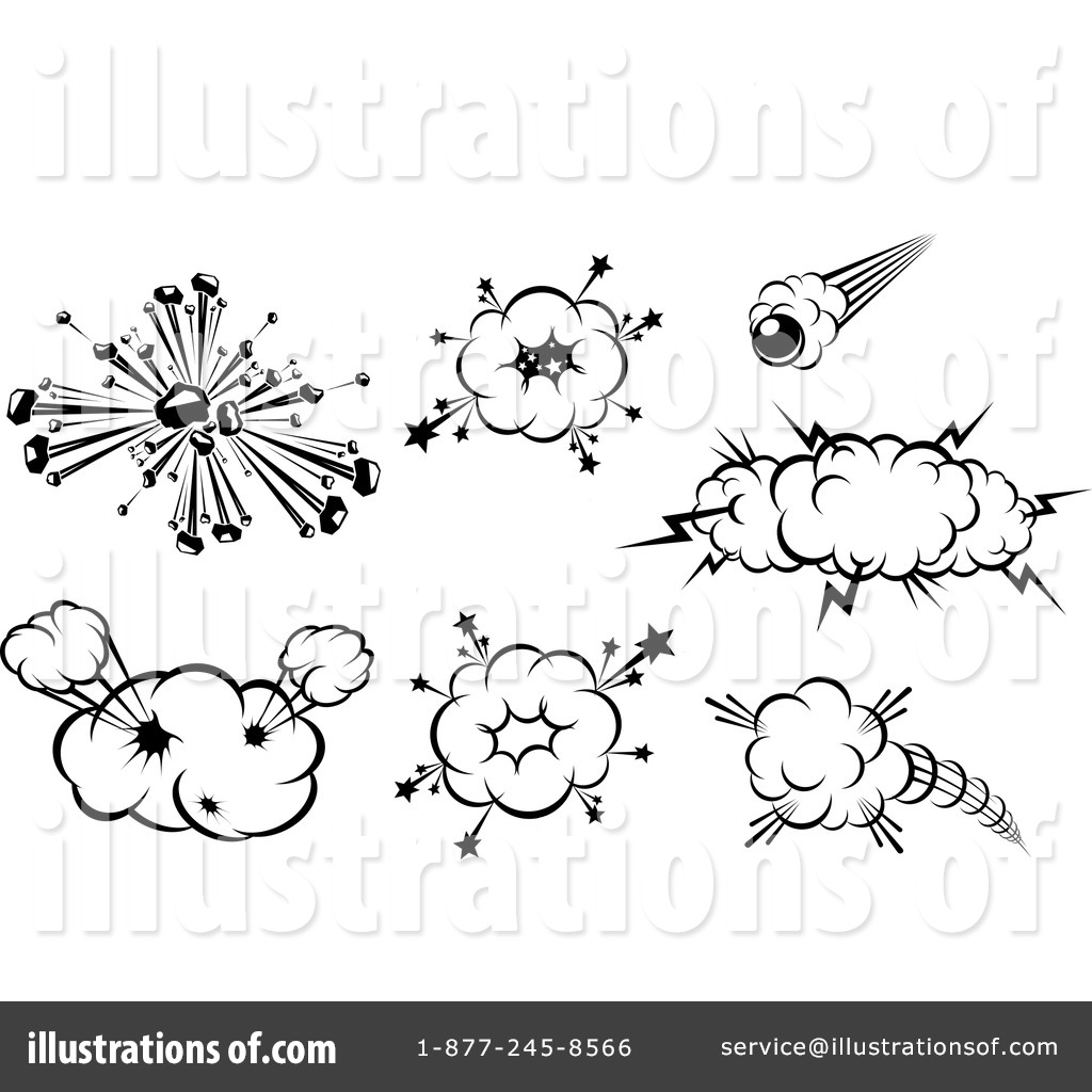 Explosion Clipart By Seamartini Graphics