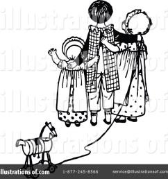 royalty free rf farewell clipart illustration 1147661 by prawny vintage [ 1024 x 1024 Pixel ]