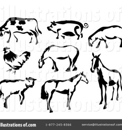 royalty free rf farm animals clipart illustration 41758 by prawny [ 1024 x 1024 Pixel ]