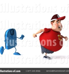 royalty free rf fat man clipart illustration 1310685 by julos [ 1024 x 1024 Pixel ]