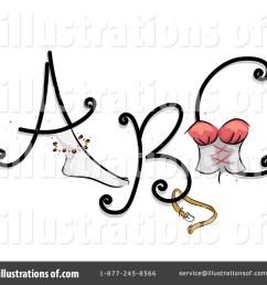 royalty free rf feminine letters clipart illustration 1112316 by bnp design studio [ 1024 x 1024 Pixel ]