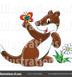 royalty free rf ferret clipart illustration 32596 by alex bannykh [ 1024 x 1024 Pixel ]